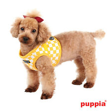 Dog Puppy Harness Soft Vest- Puppia - Grand Prix - Yellow - Choose Size