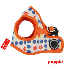 Dog Puppy Harness Soft Vest- Puppia - Blossom - Orange