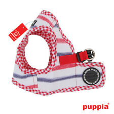 Dog Puppy Harness Soft Vest- Puppia - Sappy - Royal Red - Choose Size
