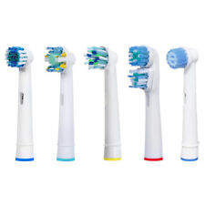 GENERIC BRAUN ORAL B TOOTHBRUSH HEADS CROSSaCTION DUAL CLEAN FLOSS ACTION