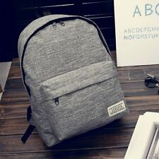 Fashion Travel Canvas Men Sport Rucksack Camping School Backpack Hiking Boy Bags
