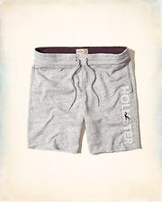 Hollister Men Logo Graphic Fleece shorts Size M , L new with tags