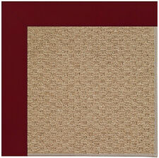 Longshore Tides Lisle Machine Tufted Red/Brown Indoor/Outdoor Area Rug