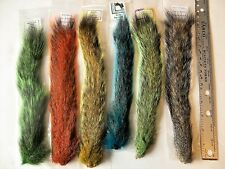 SQUIRREL TAIL - Premium Fly Tying Fishing Material - Natural & Dyed Colors NEW!