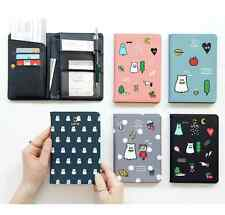 Ghost Pop Passport Case Travel Card Cash Ticket Boarding Pass Cute Holder Wallet