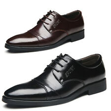 Italian style Brogues Mens Smart casual Business Wedding Shoes Plus Size 5-13