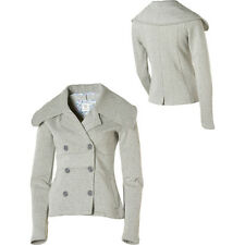 New Womens/Girls Element Darian Fleece Gray PeaCoat Jacket Coat Size Large