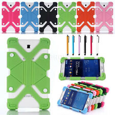"For 7"" -10.6"" inch Tablet Universal Shockproof Adjustable Silicone Case Cover"