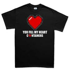 Heart Love Containers Mens T shirt Tee Top T-shirt