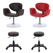 Faux Leather Barber Chair Salon Styling Spa Shampoo Equipment Type Optional P4J7