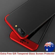 For iPhone 6 6s 7 Plus Case 360° Hybrid Hard Ultra Thin Case +Tempered Glass New