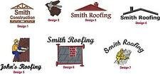 6 New Shirts Embroidered Free4Ur Roofing Roofer Business Company