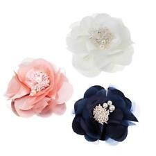 Fashion Lady Camellia Flower Hair Clip Hairpin Brooch for Beauty Decoration