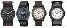 Timex Expedition Camper Fabric & Leather Strap Gents Watch