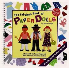 THE FABULOUS BOOK OF PAPER DOLLS - COLLINGS, JULIE - NEW HARDCOVER BOOK