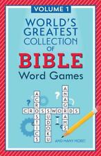 WORLD'S GREATEST COLLECTION OF BIBLE WORD GAMES - BARBOUR PUBLISHING (COR) - NEW