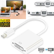 MINI DISPLAYPORT DP TO DVI CABLE ADAPTER FOR MacBook Pro Air / MS Surface Pro