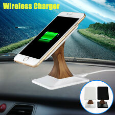 Universal Rotatable QI Wireless Fast Charger Desktop Charging Stand Phone Holder