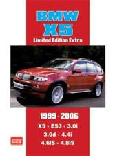 BMW X5 LIMITED EDITION EXTRA 1999-2006 - CLARKE, R. M. (COM) - NEW PAPERBACK BOO