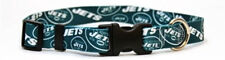CHOOSE SIZE - YELLOW DOG - MADE IN USA - NFL DESIGNER COLLAR - NEW YORK JETS