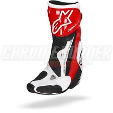Alpinestars SMX Plus Black Red White Motorcycle Boots, SMX-Plus NEW!