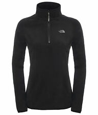 The North Face Womens 100 Glacier 1/4 Zip,lightweight Fleece pullover for ladies