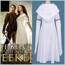 Hot!Legend of the Seeker Kahlan Amnell Confessor Dress Costume Cosplay