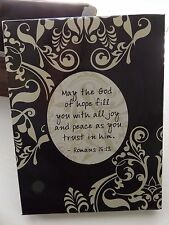 Cute~Inspirational Stationery Set- w/ Verse SCRIPTURE~Paper and Envelopes in Box