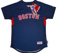 Boston Red Sox Majestic MLB Youth Cool Base Batting Practice Jersey-NWT
