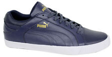 Puma Street Jump Lo Mens Trainers Navy Lace Up Leather Shoes 356526 02 U34