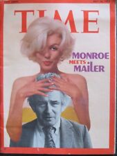 Time Magazine July 16, 1973 Marilyn Monroe / Norman Mailer