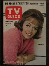 TV Guide Magazine June 20, 1964 Donna Reed