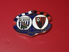 WEST BROMWICH ALBION. WEST BROM. WBA. V BOURNEMOUTH .  MATCHDAY BADGE. 12/8/17.