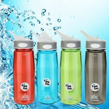 AONIJIE 750ml Cycling Hiking Outdoor Sport Water Bottle BPA Free With Flip Straw