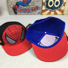 Kids Cartoon Movies Spiderman Hat Boy Girl Baseball Peaked Cap Child Hip Hop Cap
