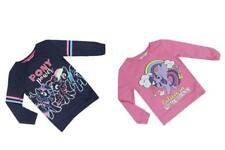 New Girls My Little Pony Long Sleeved Top Jumper Sweatshirt 18 Months - 8 Years