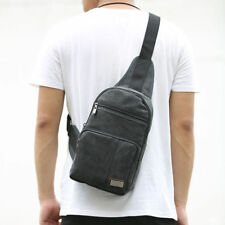 New Men's Military Hiking Sports Messenger Canvas Shoulder Bag Backpack Outdoors