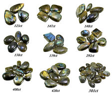 123ct-501ct Big Natural Rare Labradorite Loose Gemstones Cabs Wholesale Lot
