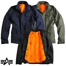 Alpha Industries Men's Jacket M-65 Heritage Field Jacket Jacket 2 in 1 Jacket