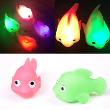 1PC Bathroom LED Light Kids Toys Water Induction Waterproof In Tub Bath Time Fun