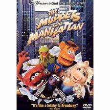 The Muppets Take Manhattan (DVD, 2001) Factory sealed