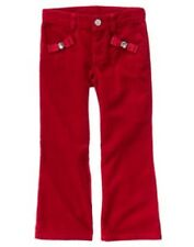 GYMBOREE Sweet Treats Corduroy Pants 4 5 12 New Red Gem Holiday Traditions Girls