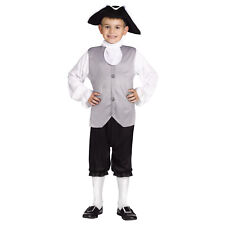Colonial Boy Costume For Kids | Fun World 114062