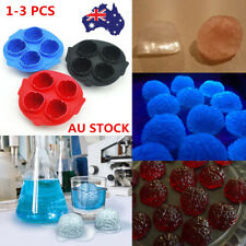 1-3X Bar Party Drink Ice Tray Cool Brain Shape Ice Cube Freeze Mold Maker Mould