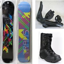NEW TRANS FE SNOWBOARD, BINDINGS, BOOTS PACKAGE - 155cm