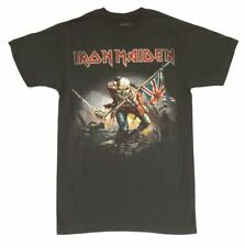 Iron Maiden The Trooper Image Ed Grey T Shirt New Official Merch Soft