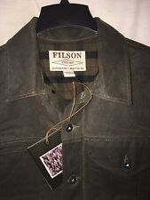 NEW WITH TAGS FILSON MADE IN USA LINED SHORT CRUISER JACKET L $325