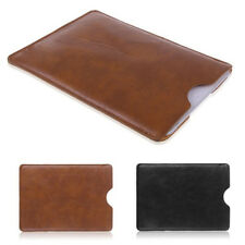 """Universal Leather Sleeve Bag Case Cover Pouch for 8"""" 9"""" 10"""" Tablet ipad Mini"""