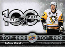 17/18 2017 UD TIM HORTONS HOCKEY TOP 100 INSERT CARDS (TOP-X) U-Pick From List