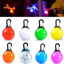 LED Clip Buckle Light for Dog Safety Pet Supplies Night Decor Bulb Collar
